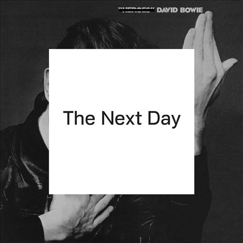 Portada del nuevo disco, 'The Next Day' (2013)