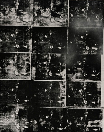 Silver Car Crash (Double Disaster), Andy Warhol (1963)