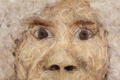 Obra escatológica de Manolo Montesinos, el peluquero.
