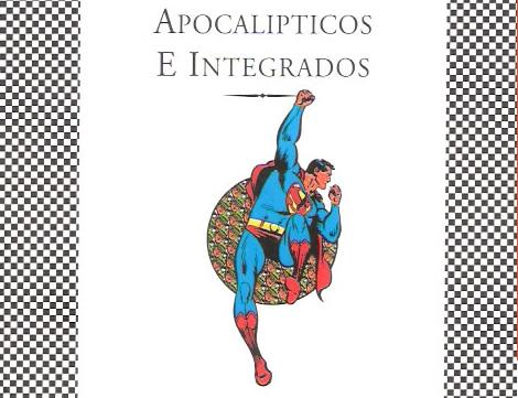 """Portada de """"Apocalípticos e Integrados"""" para edición Tusquets."""