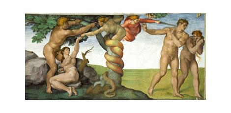 El paraíso según la historia del arte, sin morbo genital.