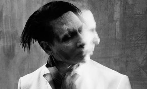 Fantasmagórico, Marilyn Manson en su última promo.