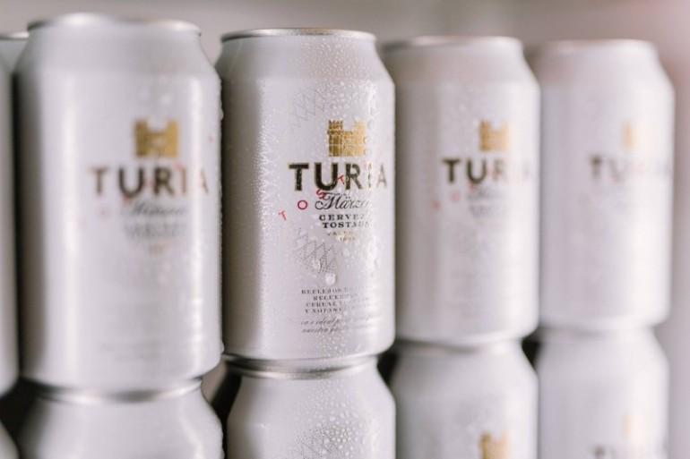 Las nuevas latas de Turia,  mi nueva cerveza favorita.