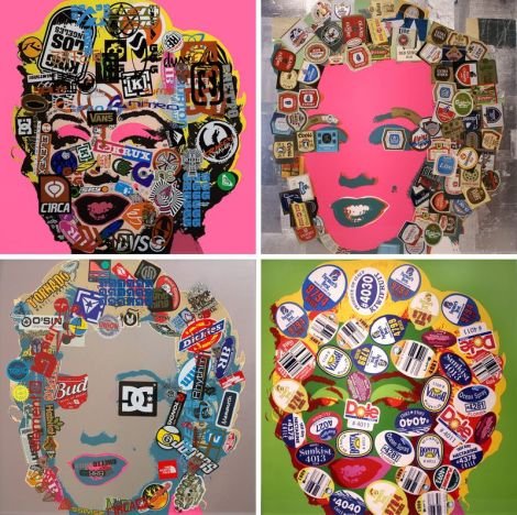 """Marilyn"", obra de Douglas Coupland."