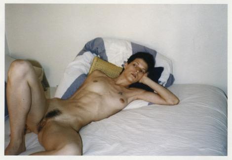 Bimba Bosé, una persona arte, desnuda, perfecta.